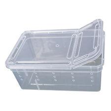 Plastic Amphibian Insect Reptile Breeding Box Transport Feeding Case Goodish