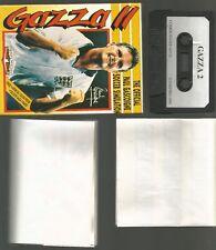 Gazza II (2) - Imperio En Caja Original Commodore 64 C64 juego de cassette probado