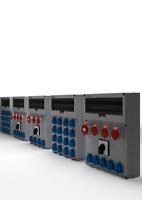Stromverteiler CEE Baustromverteiler Kraftstrom Starkstrom Verteiler GR Serie