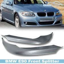 STOCK IN USA ▶ Painted #354 BMW E90 3-Ser LCI Facelift Front Lip Splitter Bumper