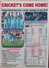 England 2019 ICC Cricket World Cup winners - souvenir print