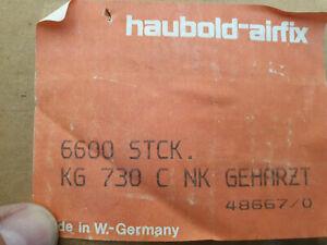 KG760 5400 Stück Länge 60mm Haubold KG 760 CNK geharzt Klammern elekt galv.