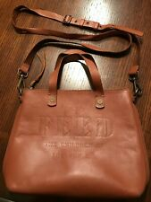FEED THE CHILDREN OF THE WORLD  75 LEATHER SATCHEL PURSE BAG