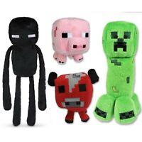 Minecraft Plush 4pc set (Enderman, Mooshroom, Creeper, Baby Pig) USA SELLER