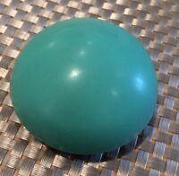 VINTAGE GREEN BLACK BAKELITE PLASTIC PIN HOLDER DARNER SEWING BOX COLLECTIBLE