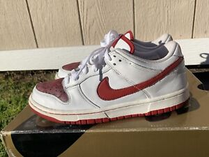 Nike Dunk Low Valentines Day 2006 Size 7 Mens 8.5 Womens Nike Sb Dunk
