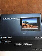7 Inch HD-RGB LCD Monitor