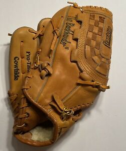 Franklin The Backhander 4768 Bo Jackson Leather Baseball Glove Lefty Rare