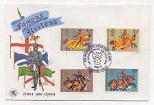 1974 Medieval Warriors FDC. Robert the Bruce special h/s. Unaddressed.