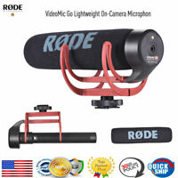 RODE VideoMic Cardioid Microphone On-Camera Shotgun Mic for Canon Nikon Sony Cam