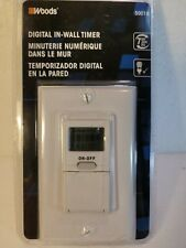Woods Digital In Wall Timer 59018 7 Day