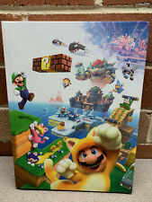 Super Mario 3D World Collector's Edition Hard Cover Official Game Guide Book