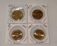 President Dollars(3P9-12) 2012pHarrison,2014pHoover,2014dHarding,2014pRoosevelt