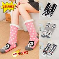 Ladies Women Soft Fluffy Fur Bed Socks Winter Warm Slipper Fleece Lined Sock UK