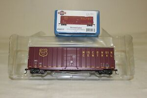 Athearn/Roundhouse HO 50' Hi-Cube Box Car Wisconsin Central WC 1744 #2133