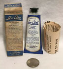 Vintage Len-oint Ointment Tube With Box And Paperwork Dr. Leonhardt Rare NY