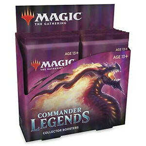 MTG Magic The Gathering Commander Legends Collector Booster Display BOX Sealed