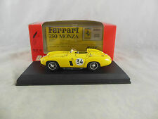 Best Model 9046 Ferrari 750 Monza Spa 1955 in Yellow Racing No 34