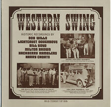 Various artists 1930s Western Swing sealed OT 105 LP Bob Wills Milton Brown etc