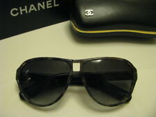NEW  AUTHENTIC CHANEL Aviator  Sunglasses 5233 C.1392/3C Blue Tortoise CC Logo