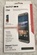 New Original Tech21 Screen Protector Impact Shield Self Heal for Htc One M9 !