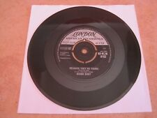 "DUANE EDDY - BECAUSE THEY'RE YOUNG / REBEL WALK - 7"" 45 rpm vinyl record"