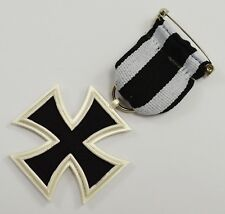 Superb Full Size Replica Iron Cross Medal with Ribbon Germany/Prussia WW1 WW2