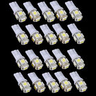 20x T10 5050 W5W 5 SMD 194 168 LED White Car Side Wedge Tail Light Lamp