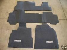 Genuine OEM 2005 Honda Pilot Gray Carpet Floor Mat Set