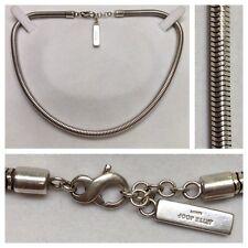 Jette Joop Schlangenkette 925er Silber Kette Collier Markenschmuck 41 cm