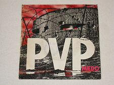 "PVP MIEDO 80´S SPANISH PUNK ROCK ORIGINAL ISSUE 7"""