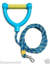 Paws Aboard Water Ski Braided Rope Dog Lead For Small & Large Dogs
