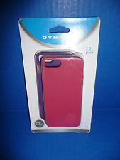 iPhone Case 2-Pack for iPhone 5 & 5S (Silicone) Pink/Purple By Dynex NEW!!