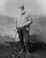 1901 Pioneer Golfer OLD TOM MORRIS Glossy 8x10 Photo Vintage Print Golf Poster