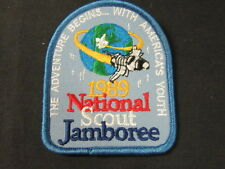 JAMBOREE SPECIAL Lot of 5 1989 National Jamboree Pocket Patches