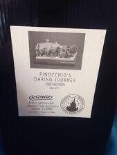 Olszewski Disneyland Pinocchio's Daring Journey Miniature Disney Figurine 1st Ed