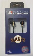 San Francisco Giants iHip Noise Isolating Earphones Earbuds - iPhone iPod NEW