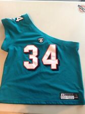 WOMENS ONE SHOULDER R. WILLIAMS DOLPHINS FOOTBALL JERSEY