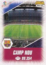 103 CAMP NOU ESPANA FC.BARCELONA ESTADIO STADIUM CARTA CARD MGK 2018 PANINI