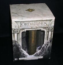 Lord Of The Rings-The Fellowship Of The Ring Gift Set w/Bookend Figures~4 Discs