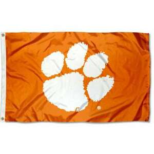 Clemson Tigers 3' x 5' Flag - Orange