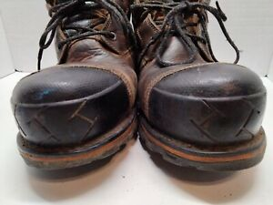 Timberland Mens Boondock Waterproof Leather Composite Toe Lace Up Safety, Sz 14M