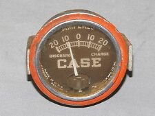 Vintage JI Case Tractor Amp Amperes Gauge Used NEAT display piece! SC DC