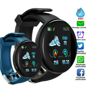 Smart Watch Heart Rate Blood Pressure Sport Fitness Activity Tracker Bracelet