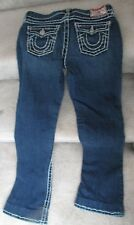 True Religion Girls Jeans Size 14 Inseam 27 Billy Super T