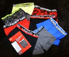 Under Armour 2 PACK stretch Original Boxer Jock brief Boys Youth S / M  $19.99