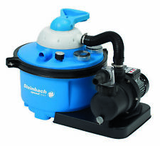 Steinbach Sandfilteranlage Speed Clean Comfort 50 blau Pool 6600 l/h