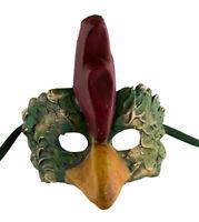 Maschera Di Venezia Nubilato Gallo IN Carta Mache Craft Fatto a Mano 22471 V5