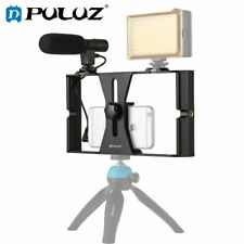 PULUZ Smartphone Video Rig + Video Shotgun Microphone Kits for iPhone Samsung