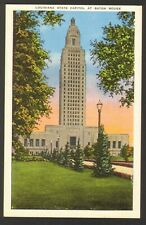 Unused Postcard Louisiana State Capitol at Baton Rouge LA